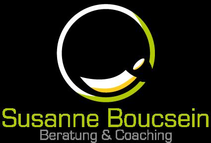 Logo mit Text, Susanne Boucsein, Beratung und Coaching